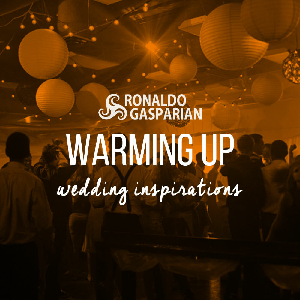 Wedding Inspirations – Warming Up